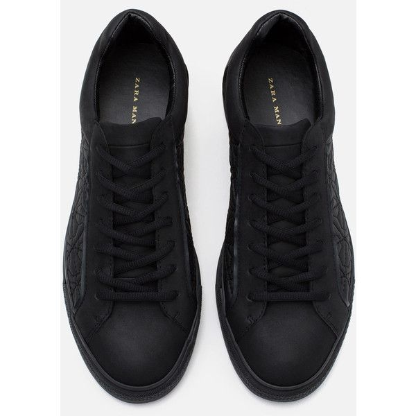Zara sneakers, Quilted shoes, Zara shoes