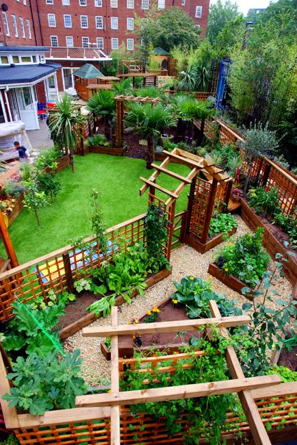 Its for a Nursery School in London but the garden layout