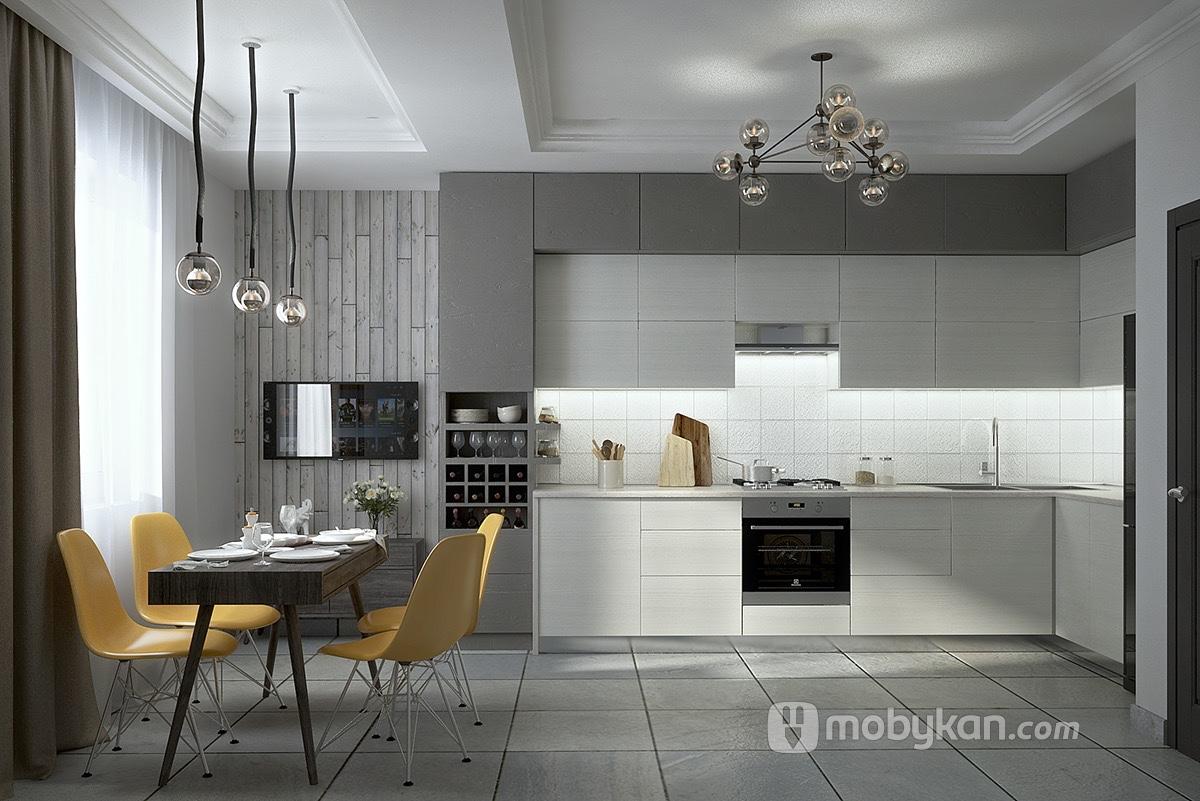 صور مطابخ واشكال مطابخ تتناسب مع كافة الأذواق من اختيار موبيكان Luxury Kitchen Design Grey Kitchen Designs Modern Kitchen Design