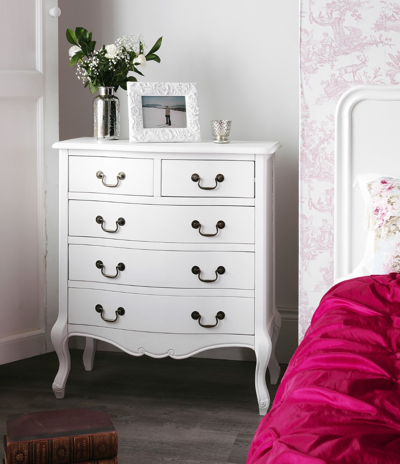 Details About Shabby Chic White Bedroom