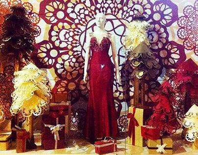 """Check out new work on my @Behance portfolio: """"criação/produção vitrine de natal da loja Thais Nader"""" http://on.be.net/1xr7IGo"""