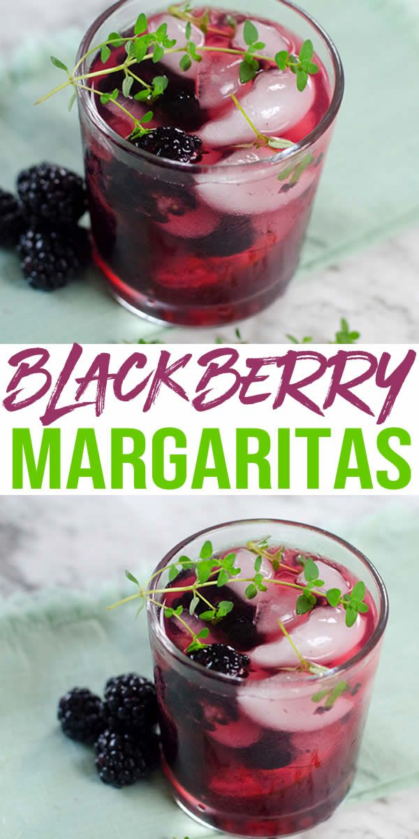 Alcoholic Drinks – BEST Blackberry Margarita Recipe – Easy and Simple On The Rocks #tequiladrinks