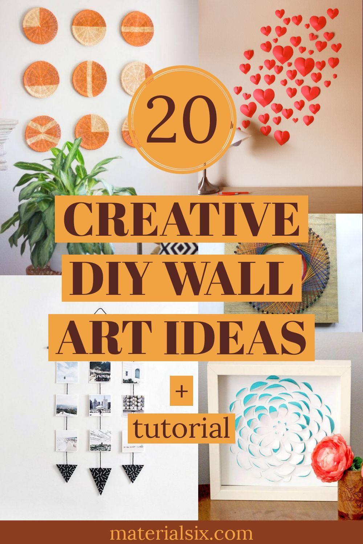 830 Wall Decor Ideas Diy In 2021 Home