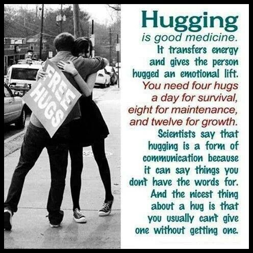 HUGS I LOVE THEM