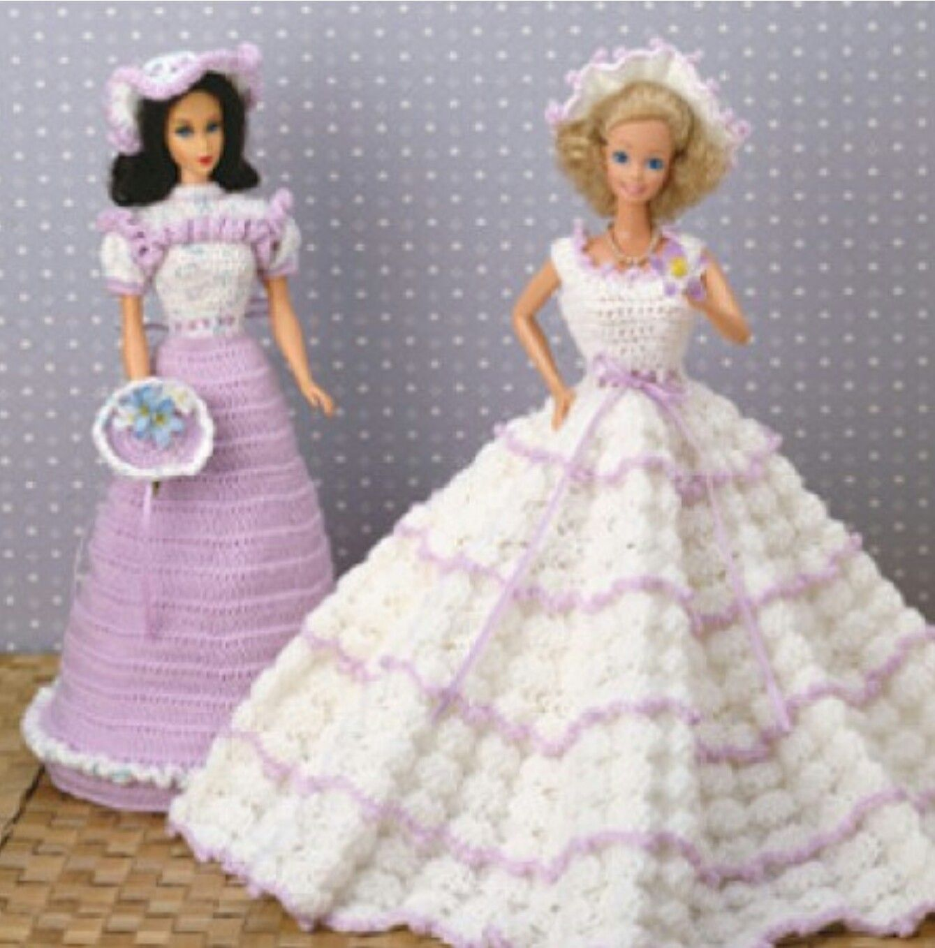 Pin von Sheri Thomason auf Barbie Wedding Crocheted | Pinterest