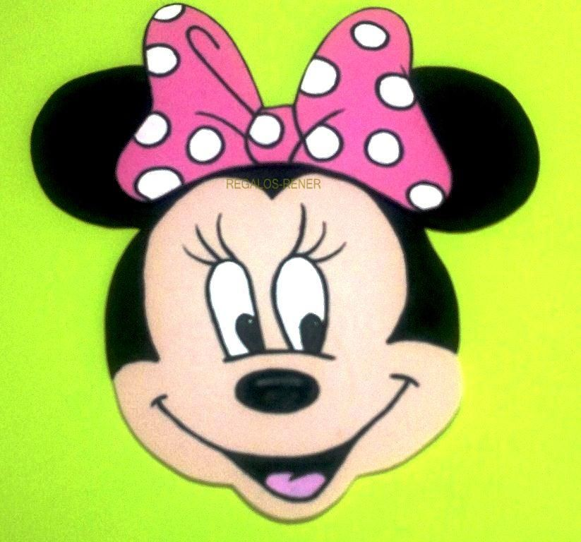 Minnie en goma eva