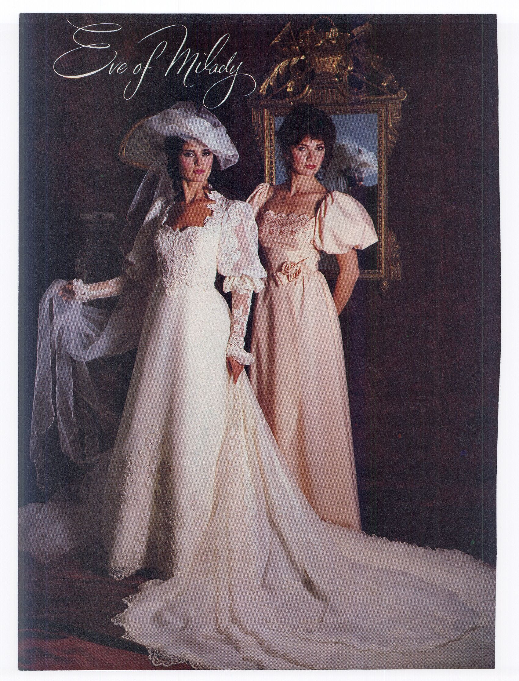 1983 Wedding Gown By Eve Of Milady