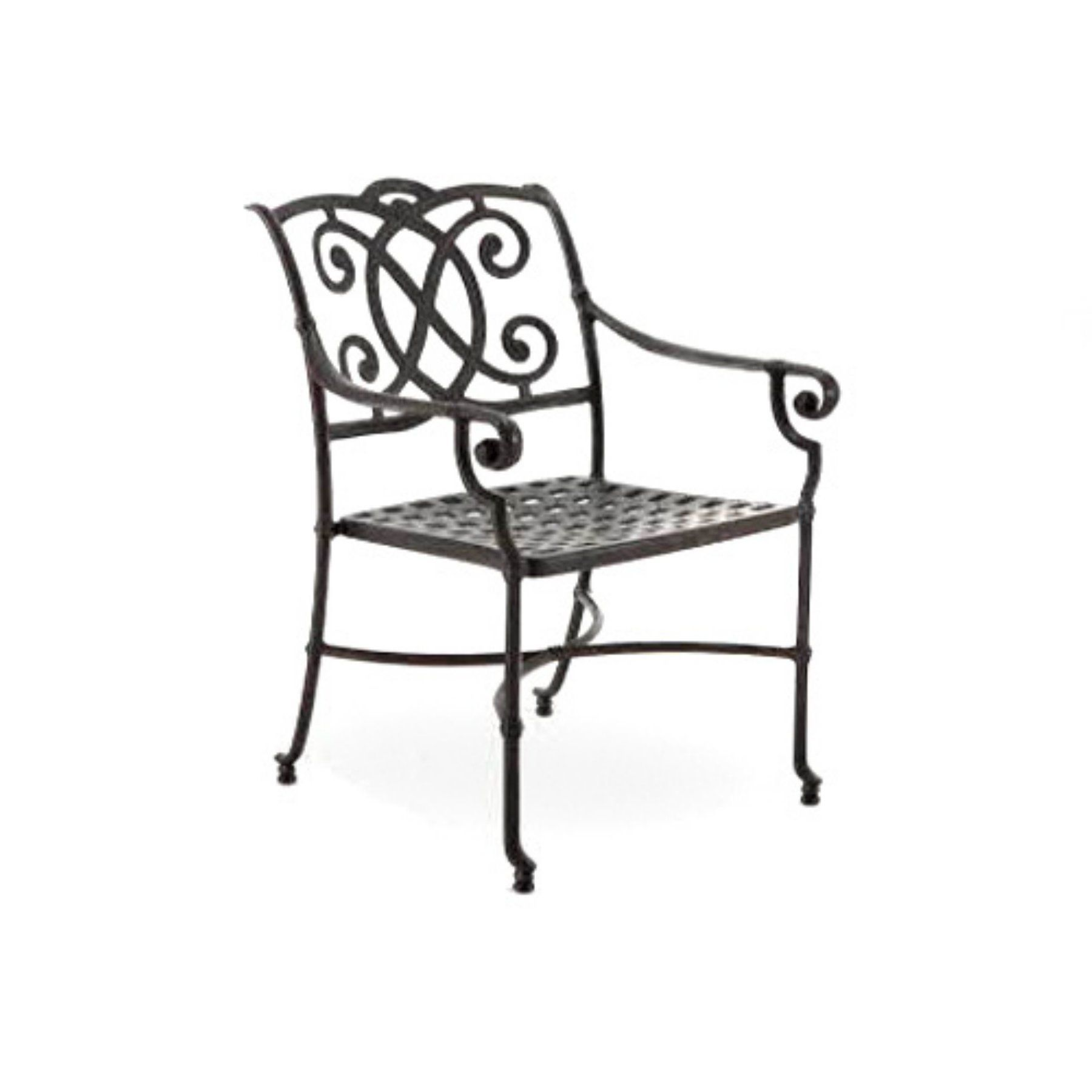 Outdoor winston volterra legacy collection dining chair m