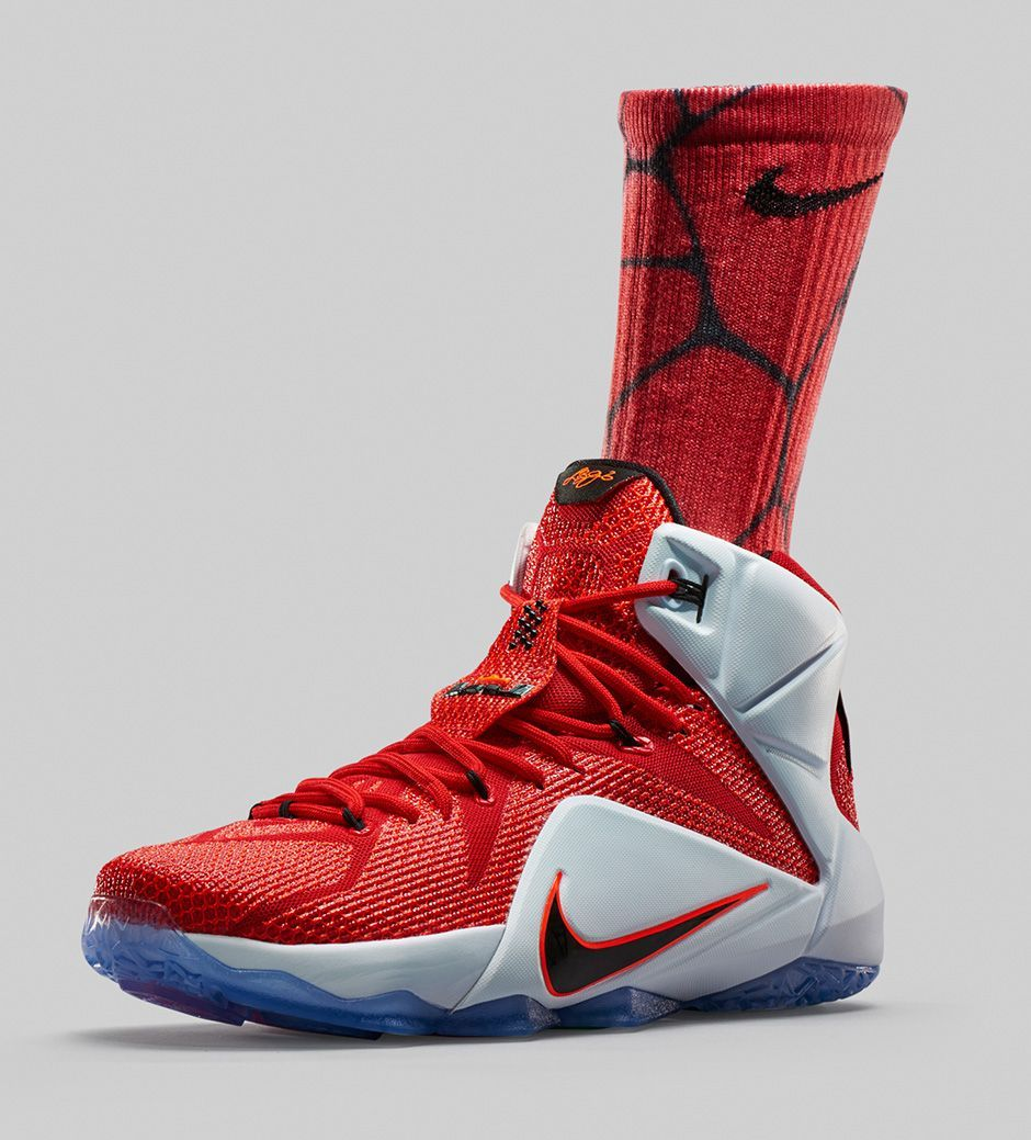Guarantee Quality Nike Lebron 12 Elite Red Green