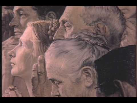 American Chronicles The Art Of Norman Rockwell Part 1 Youtube