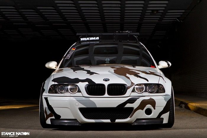Arctic-Camo e46 BMW M3