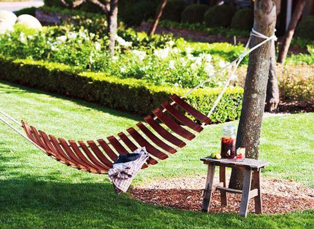 Meuble original composé de vraies barriques | Jardin | Pinterest ...
