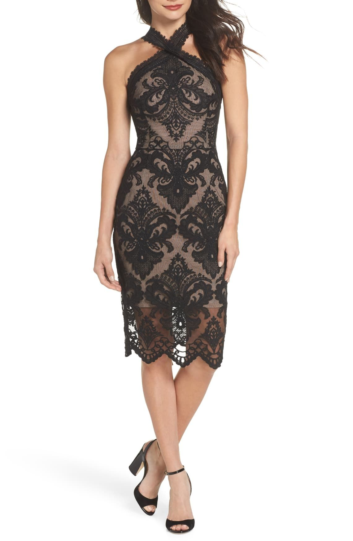 Bronx And Banco Notre Dame Cocktail Dress Nordstrom Dresses Cocktail Dress Black Cocktail Dress [ 1746 x 1140 Pixel ]