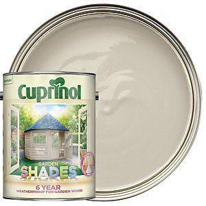Traitement pour bois mat avec abat-jour en Cuprinol – Pierre naturelle 5L