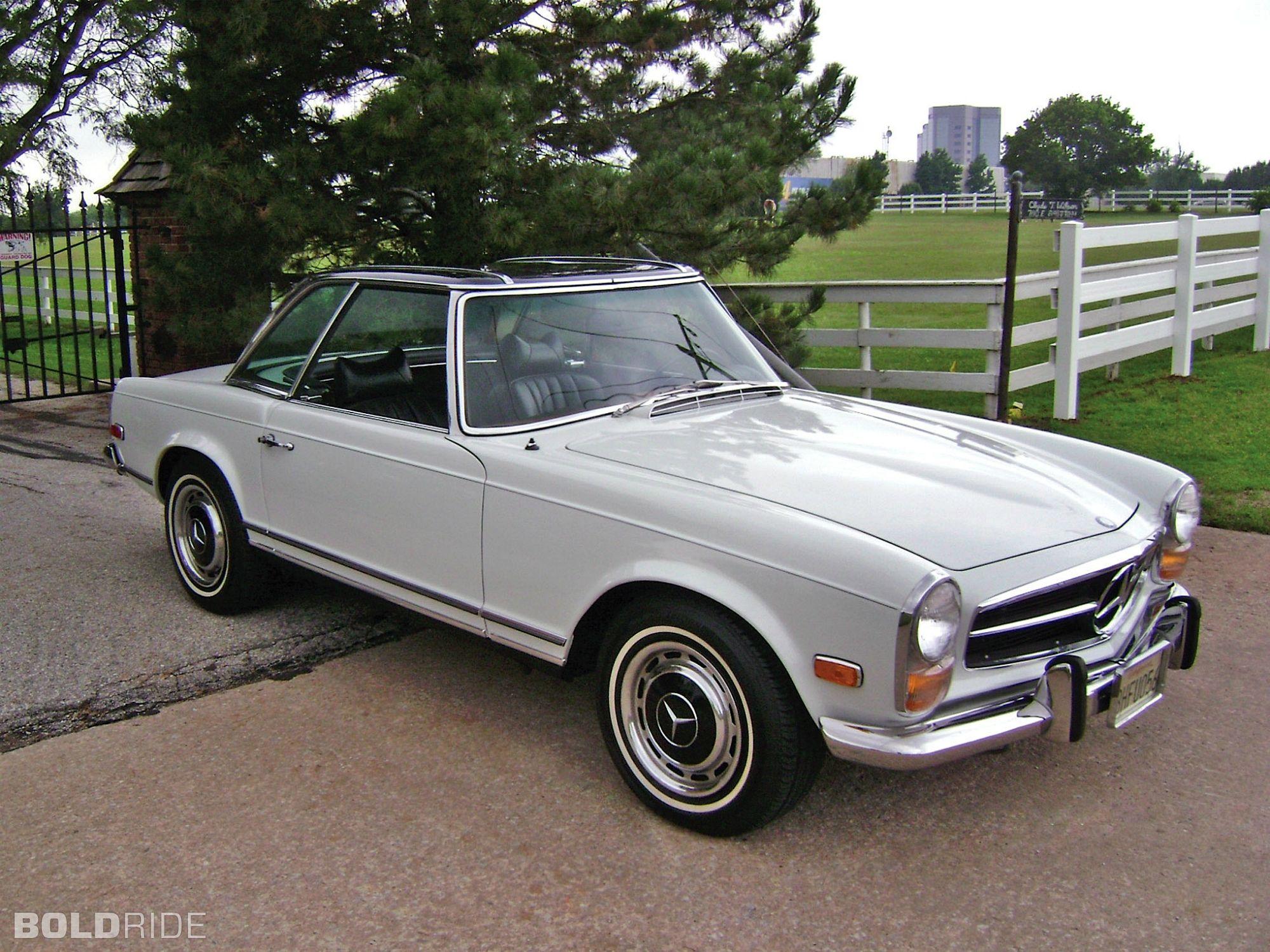 1969 mercedes benz 280 sl roadster vintage mercedes for 1969 mercedes benz