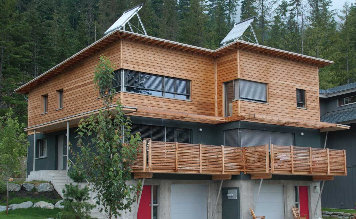 ecoHouse 4 - Rainbow House - Whistler duplex combines affordability with high-performance | Sustainable Architecture and Building Magazine