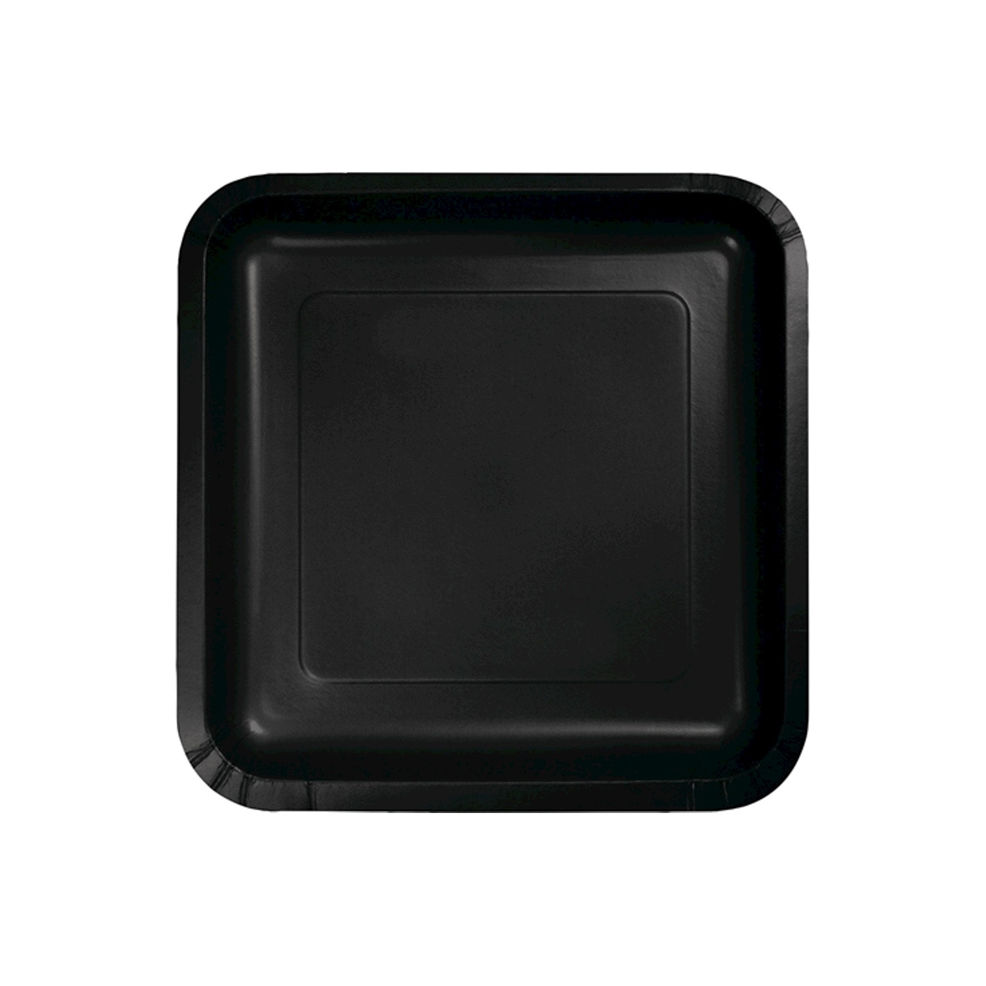 18ct Black Disposable Plates  sc 1 st  Pinterest : black disposable plates - Pezcame.Com