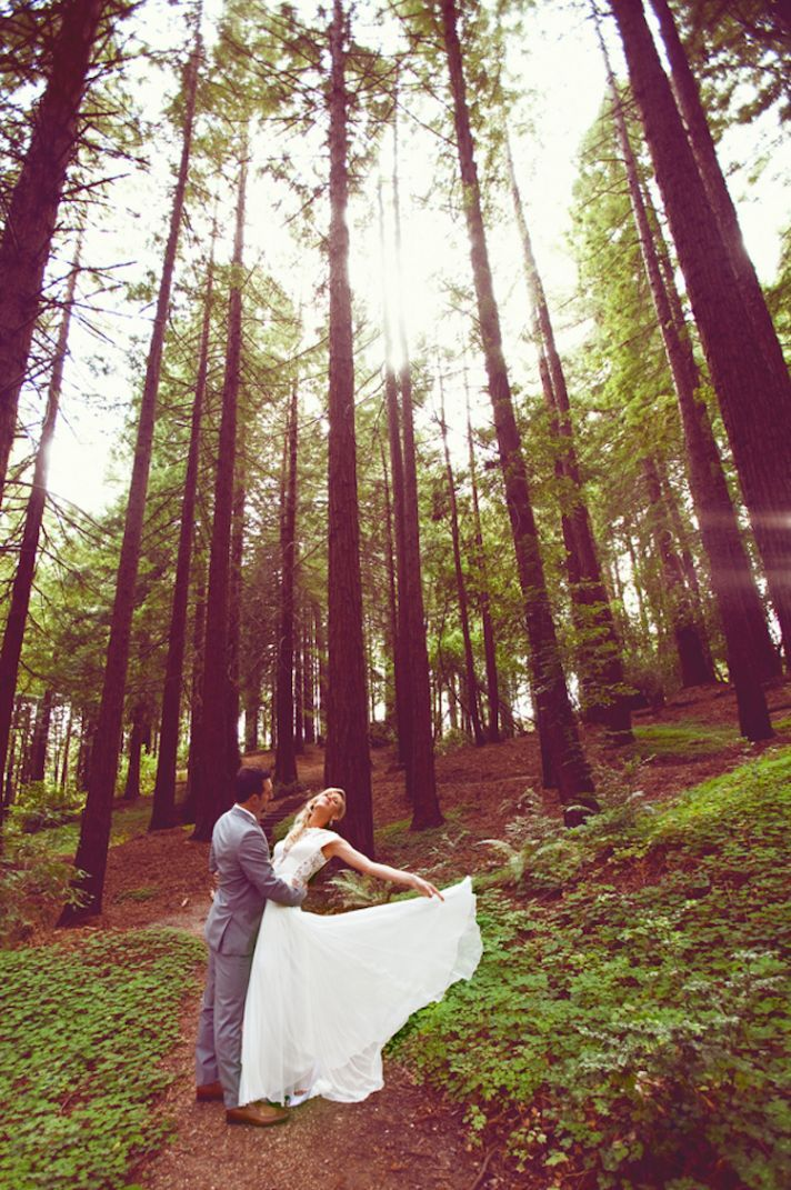 Whimsical Wedding Photography: Whimsical Garden Wedding