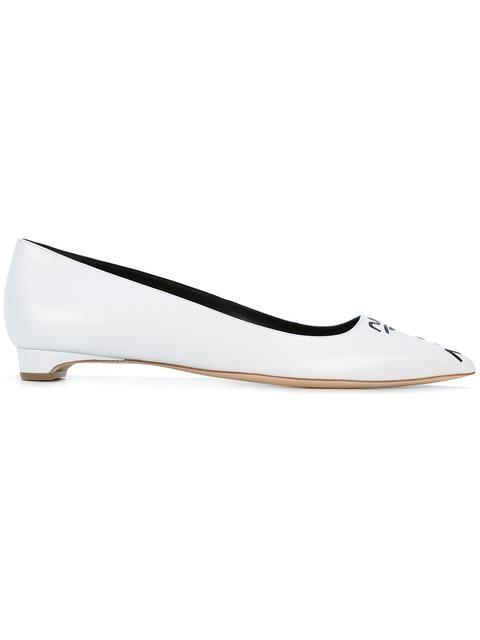 footlocker pictures online cheap sale shopping online Rupert Sanderson pointed toe ballerinas cheap sale cost Z4bkuVe