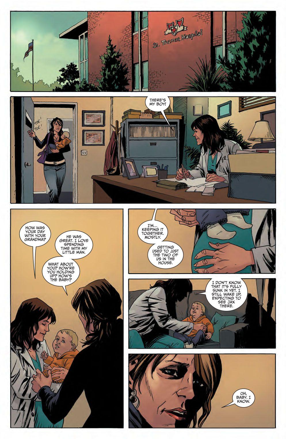 Boom Studios Comic Book Previews The Returning 2 Sons Of Anarchy 8 Sons Of Anarchy Comics Comic Books