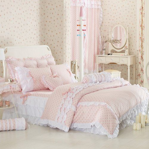 Pink Bedding Sets | Shabby chic bedrooms, Romantic and Kind words