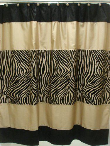 Sherry Kline Zuma Shower Curtain with Hook Set Sherry