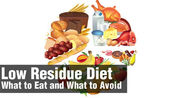 foods cannot eat on low residue diet