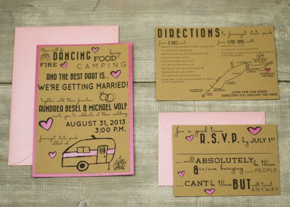 Wedding Invitations Custom Design--completely customized, from scratch by TumbleWeed Creative House