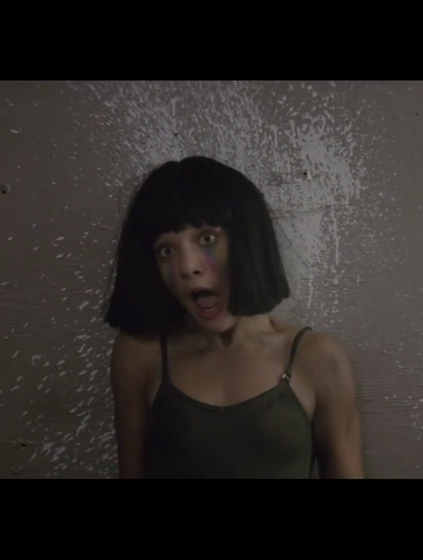 from video Sia - The Greatest lol maddie's face though