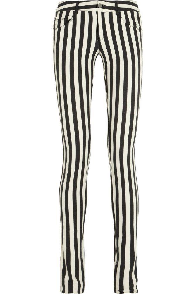 Tendencias: jeans en blanco y negro