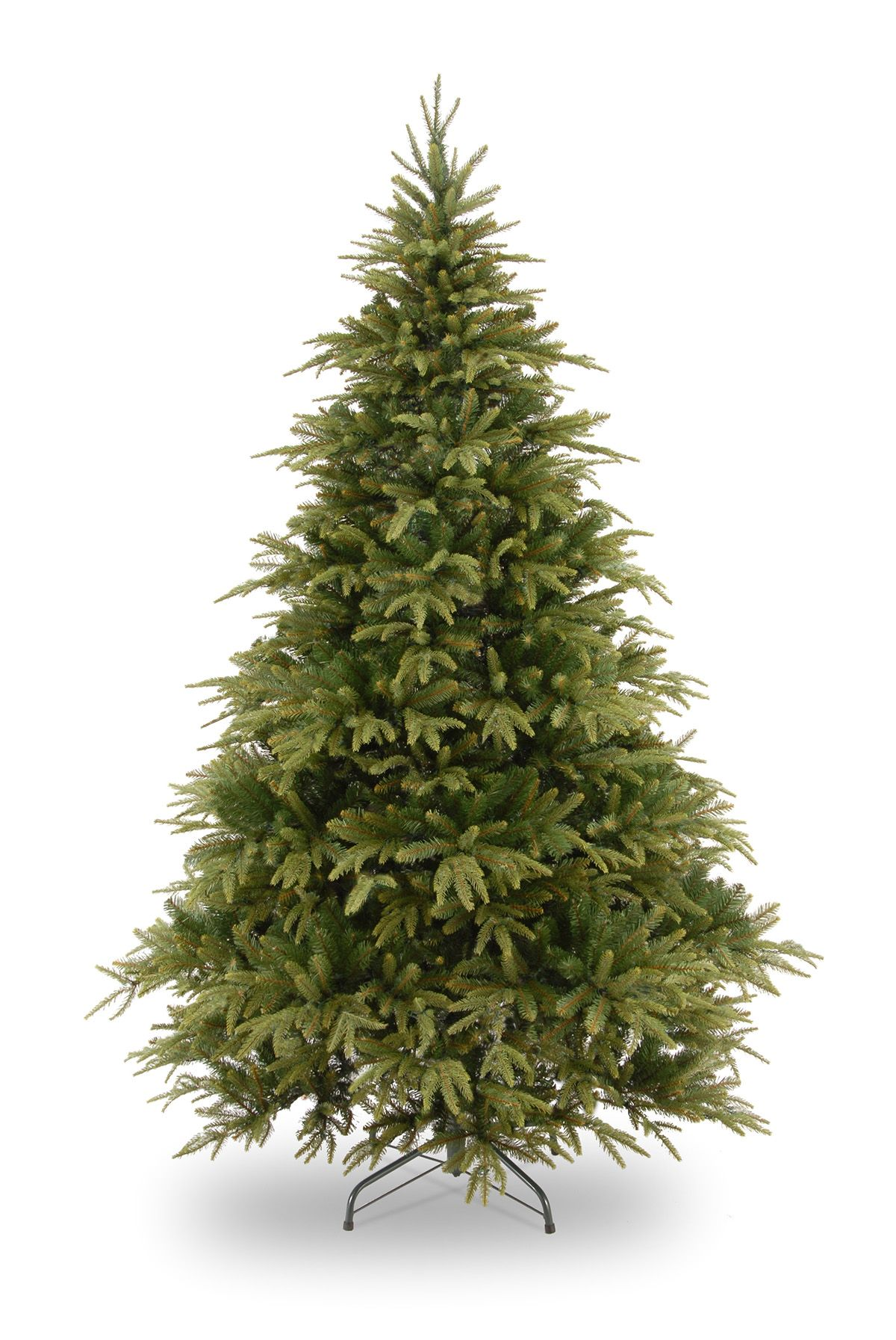 6ft Weeping Spruce Feel-Real Artificial Christmas Tree | All ...