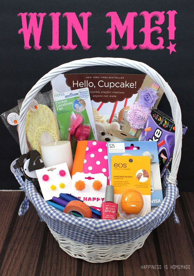 Mothers Day Gift Basket And 25 Visa Gift Card Giveaway
