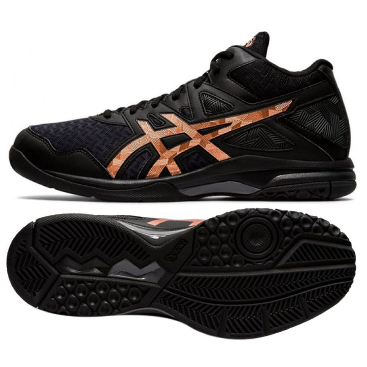 Volleyball Sport Asics Asics Gel Task Mt 2 M 1071a036 002 Shoes Black Black Asics Gel Asics Shoes