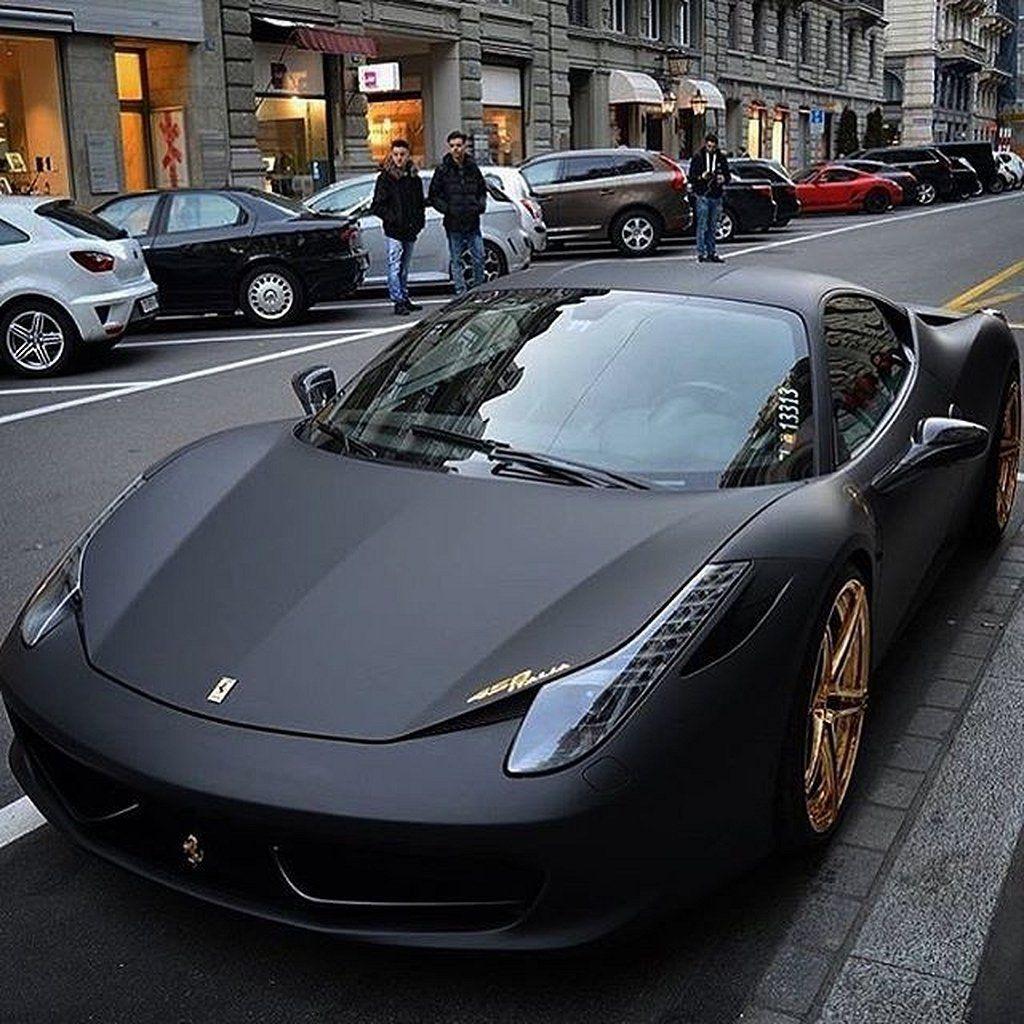 Best+30 Dream Cars Matte Black Cars Super