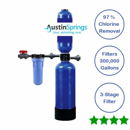 300,000 Gallons NEW WHOLE HOUSE WATER FILTER AUSTIN SPRINGS