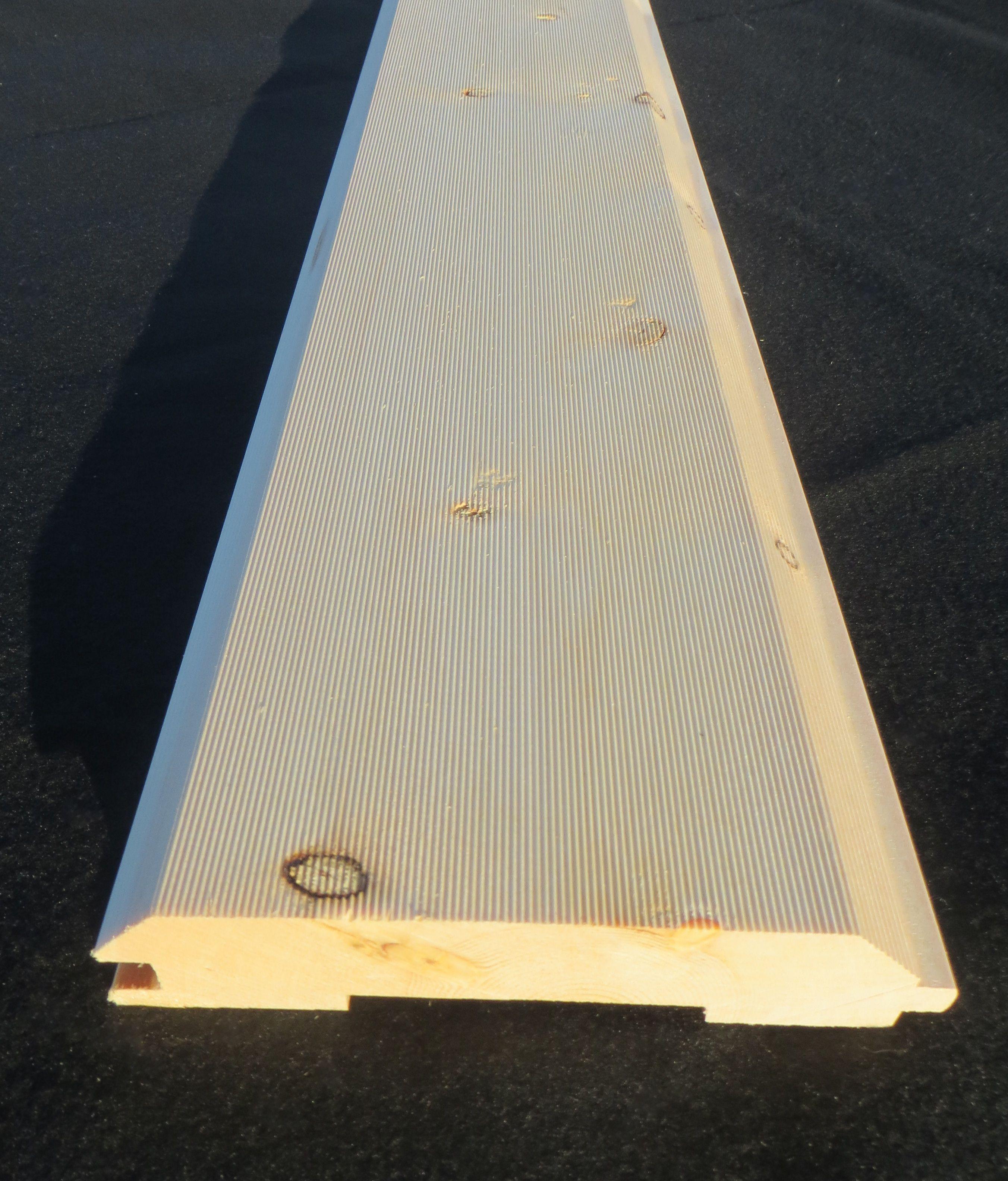 3x8 log siding hand hewn pine - 2x8 Combed Log Timber Siding