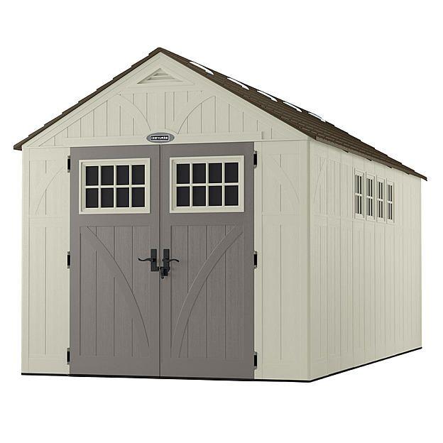 craftsman craftsman cbms8165 8 45 x 16 1 resin shed 882
