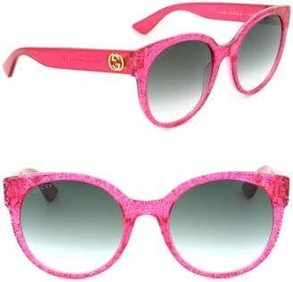 230719f9a5 Gucci Sunglasses GG 0035 S- 005 FUCHSIA   GREEN - Disclosure  Advertisement