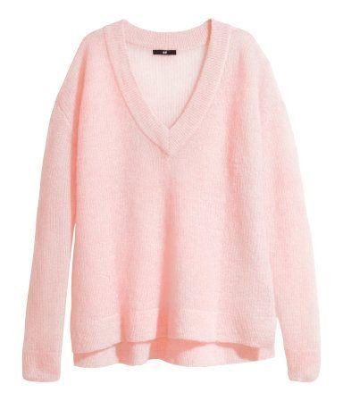 H&M pink knit | MINE | Pinterest