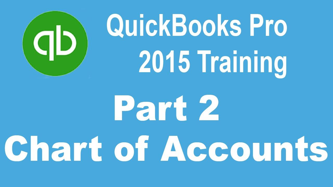 QuickBooks Pro 2015 Tutorial Setting Up the Chart of