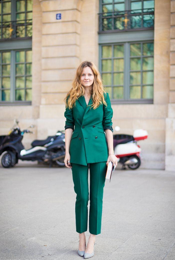 Veste femme vert emeraude