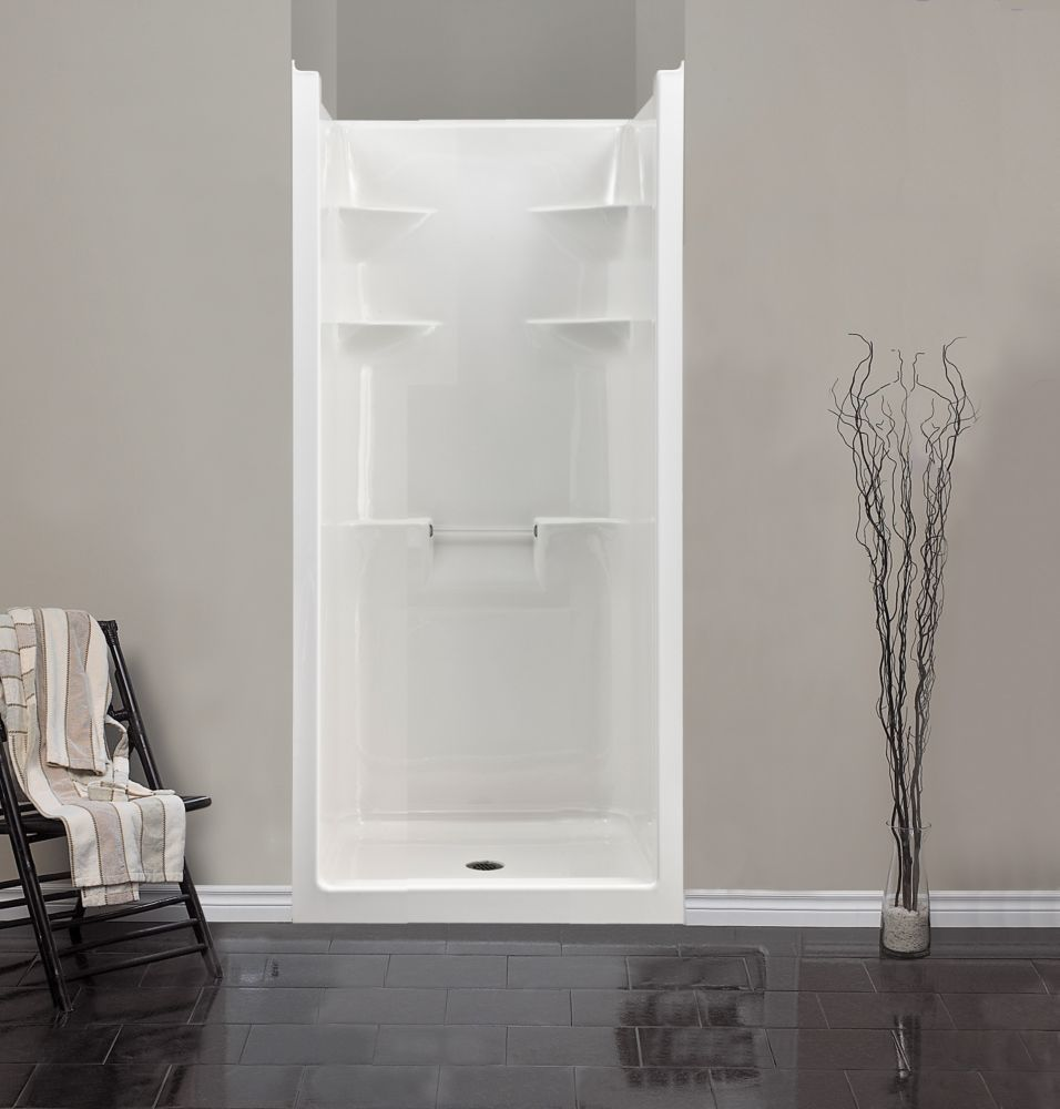 Melrose 3 1 Piece Acrylic Shower Stall Shower Remodel