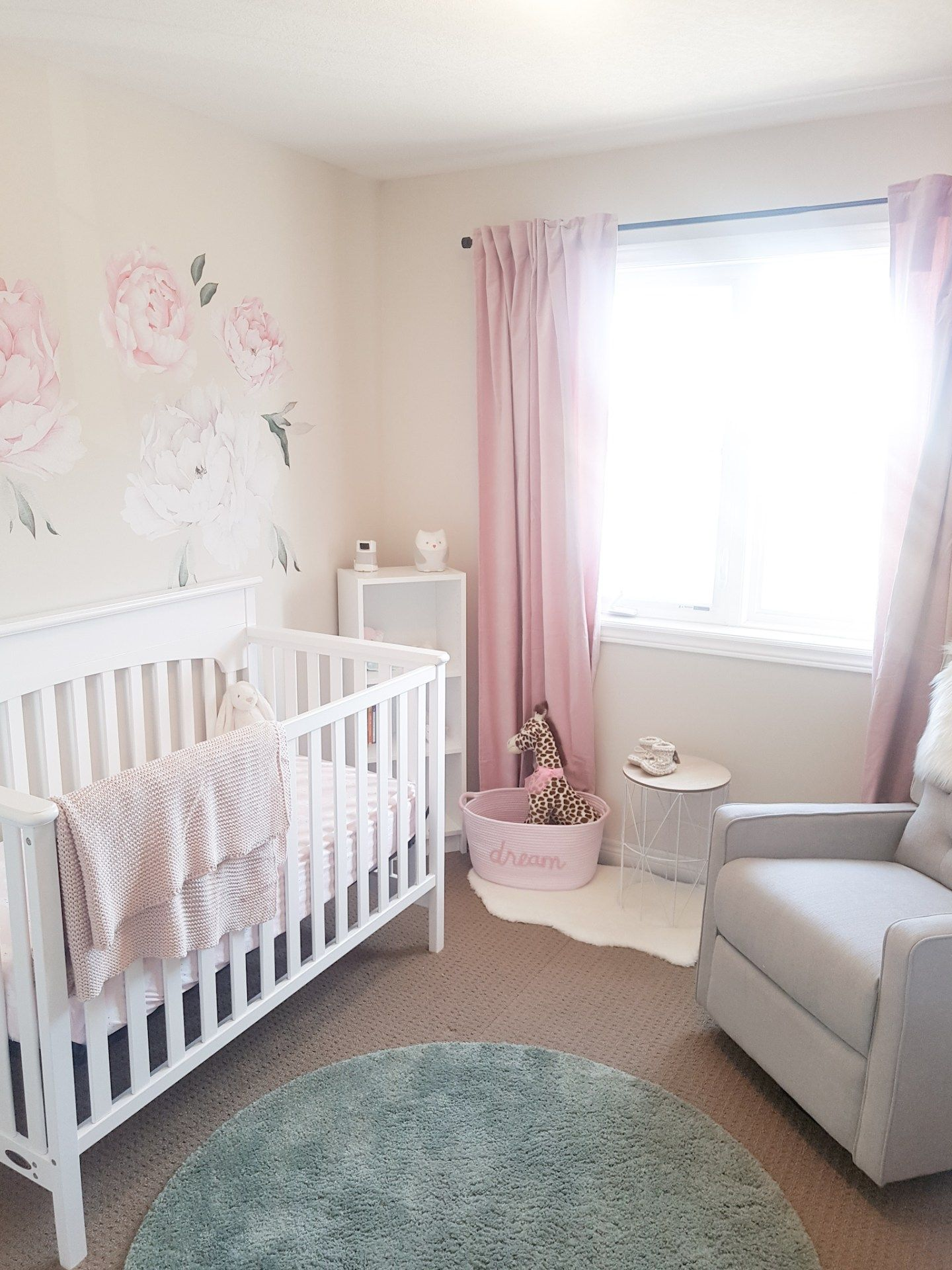 Baby Girl Nursery Room Tour + Nursery Essentials - CANDICE CAMERA In 2020 | Baby Girl Nursery Room, Nursery Essentials, Girl Nursery Room