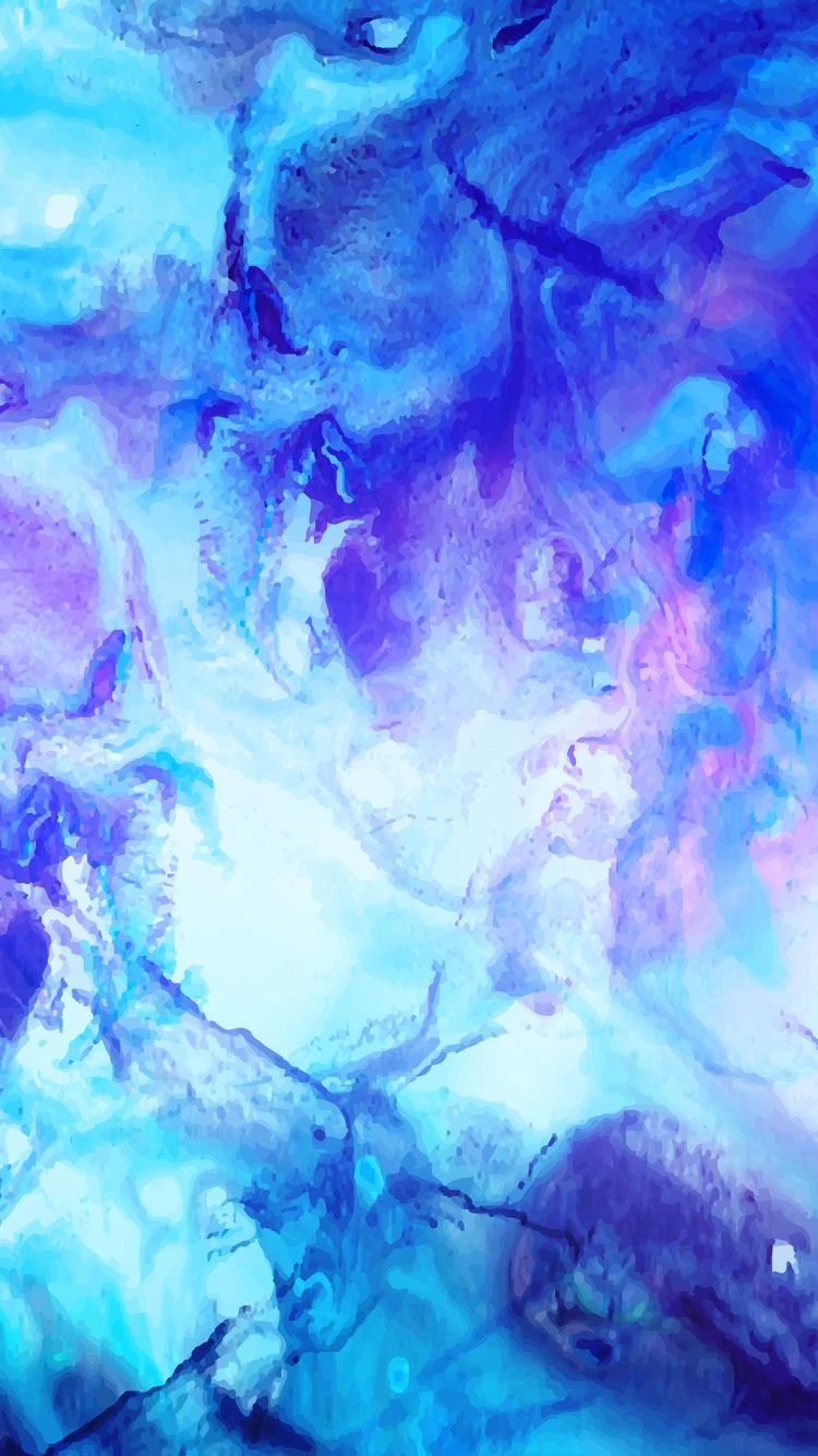 Blue And Purple Swirls Cute Backgrounds Wallpaper Backgrounds Phone Background Patterns