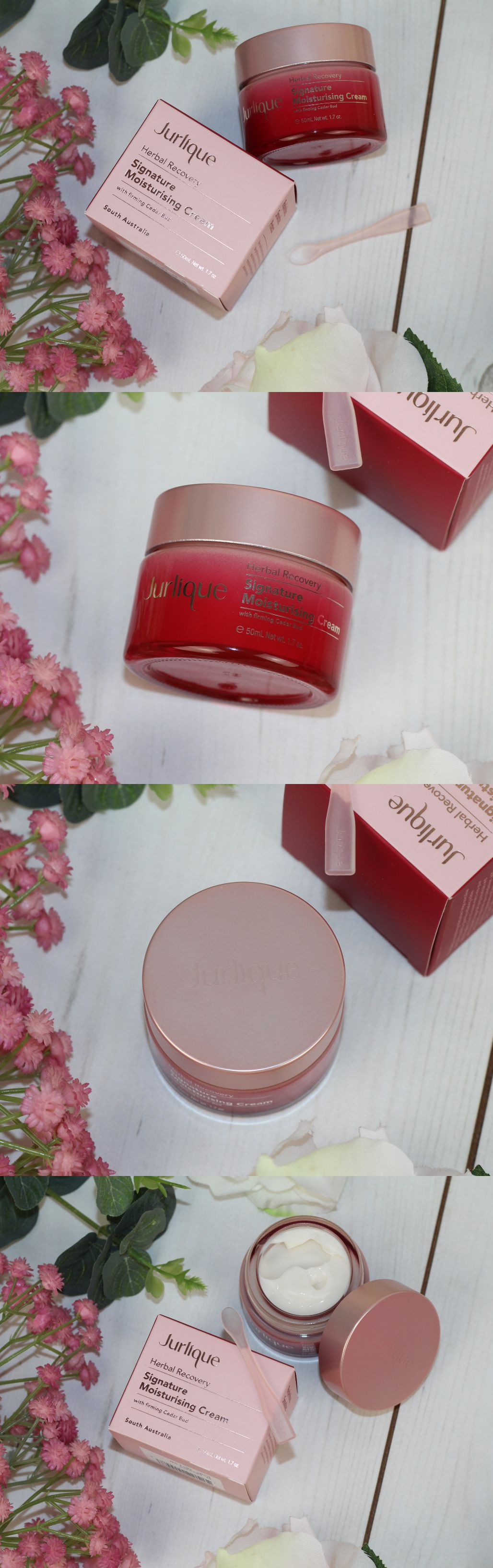 Herbal Recovery Signature Moisturising Cream by jurlique #8