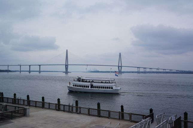 The Arthur Ravenel Jr. Bridge, also known as the New Cooper River Bridge.