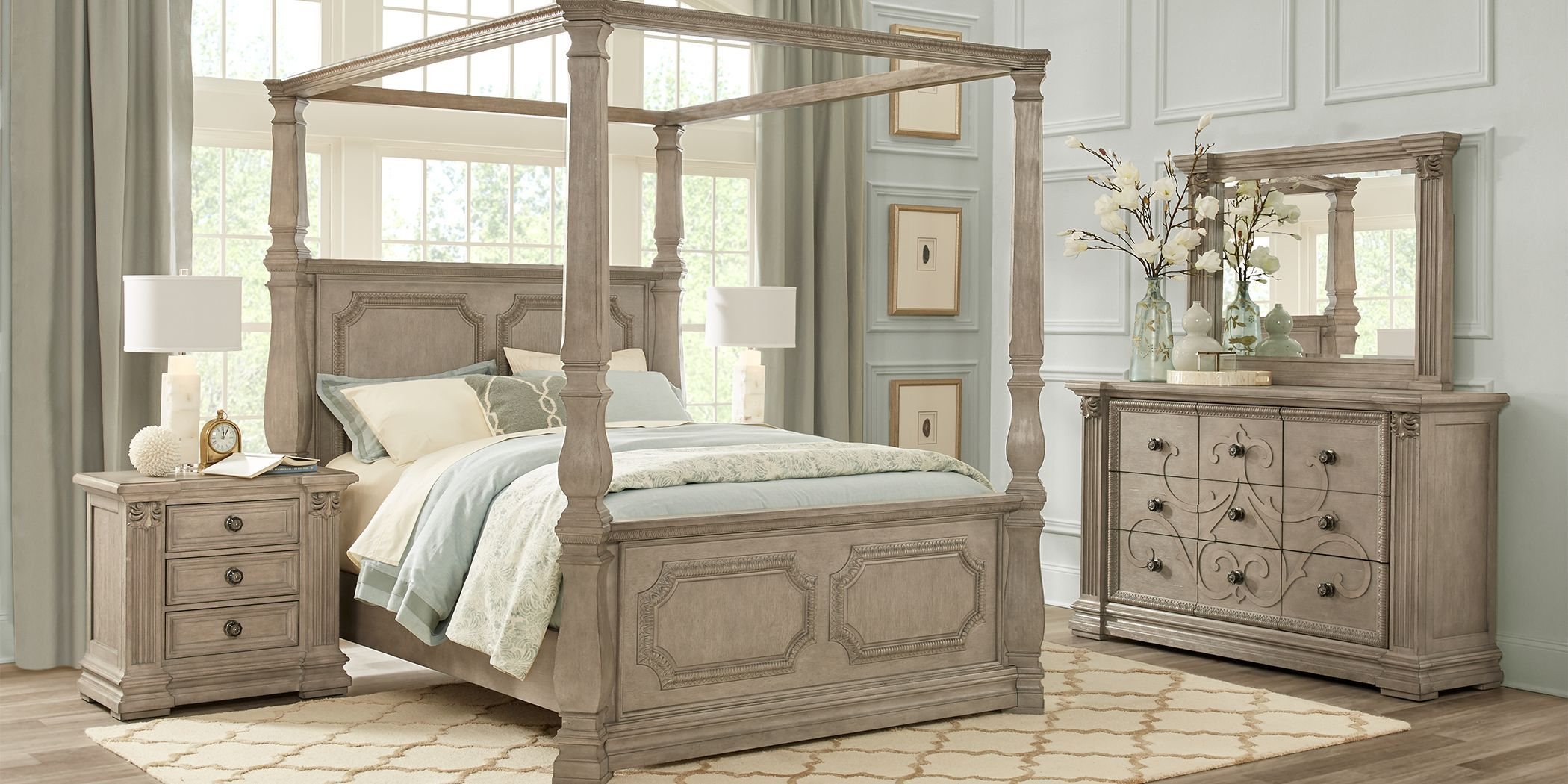 Cassimore Canopy Bedroom Set Signature Design By Ashley Furniturepick