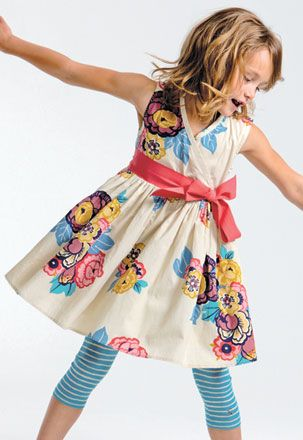 Perfect Easter Dress! Reminds me of a Mini Anthropology.
