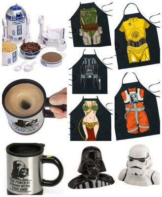 Star wars gift ideas aprons measuring cups salt and pepper these are all great gifts for the star wars fan in your house star wars gift ideas solutioingenieria Gallery