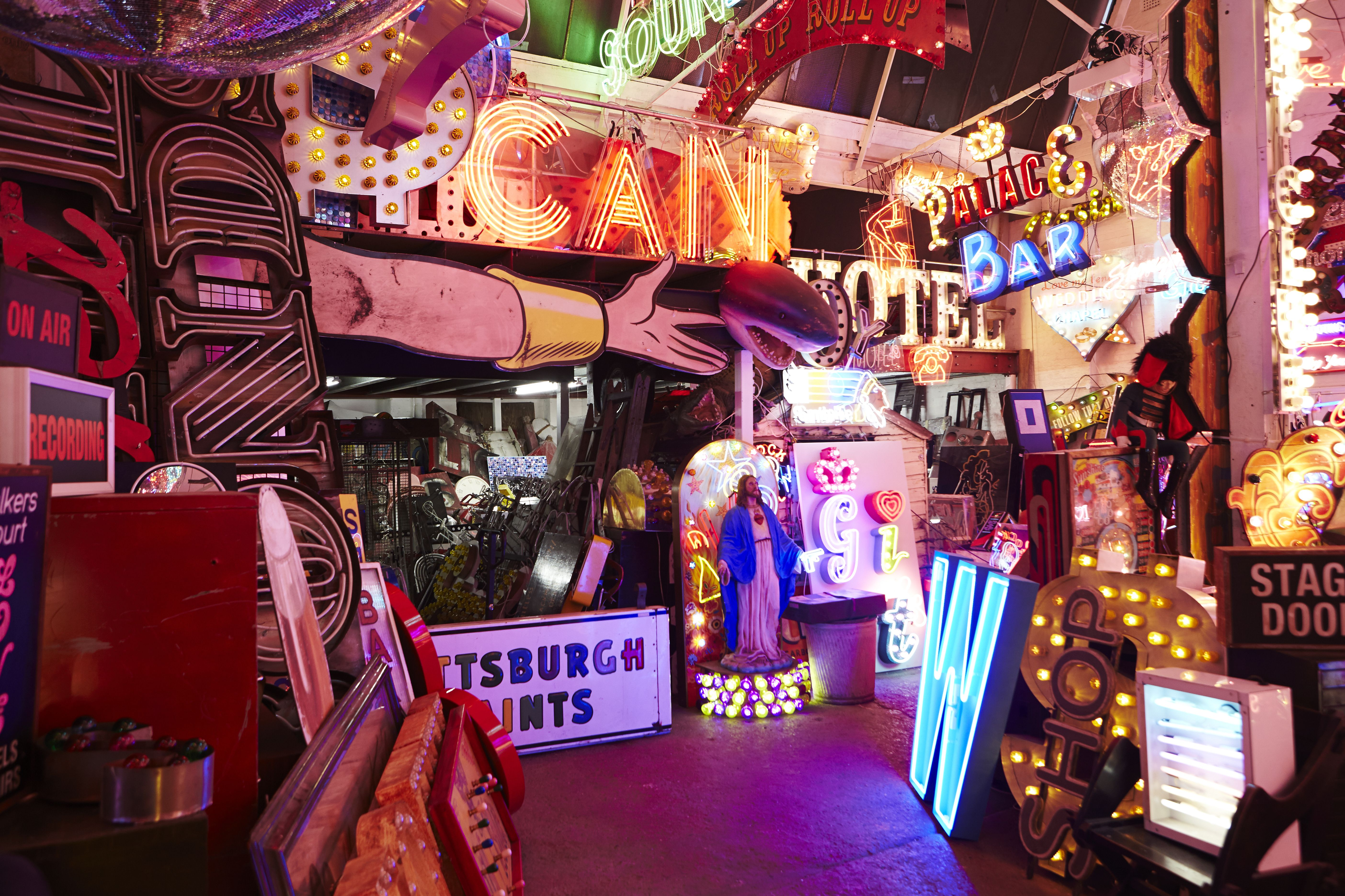 Accent launch at lights of soho london neon london